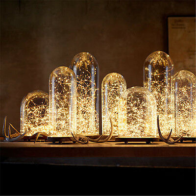 20/30/50/100-LED String Fairy Light Copper Wire Battery Powered Waterproof DIY