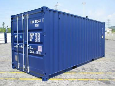 20Ft New (One Trip) Storage Containers