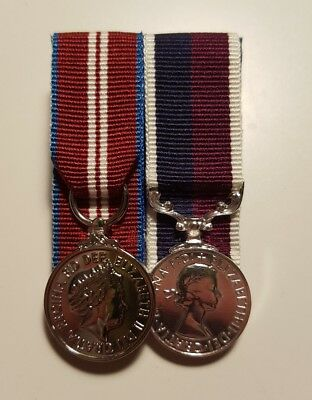 Queens Diamond Jubilee, RAF LSGC Miniature Medal Court Mounted set