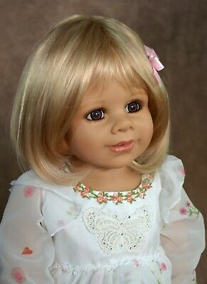 Masterpiece Dolls Kate Blonde Wig, Fits Up To a 18-inch Head
