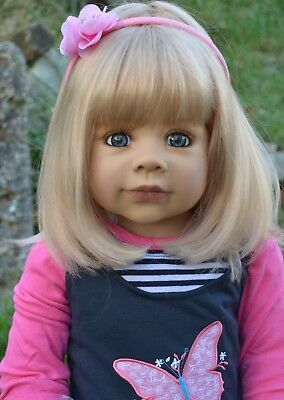 Masterpiece Dolls Rory Blonde Wig Fits up to 18 Inch Head