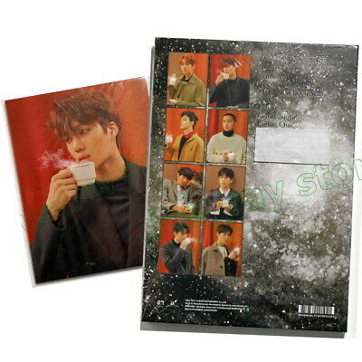 EXO 2017 Winter Special Album Universe Taiwan CD w/Book+60P+Card+8 Postcards NEW