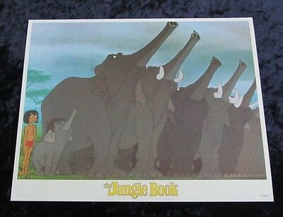 Walt Disney's The Jungle Book lobby card # 6 (90's Reissue Lobby Card)