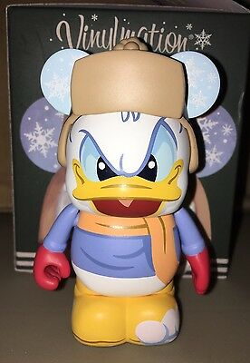 "Donald Duck HapPy Holidays 2016 Eachez 3"" Vinylmation Common Version Christmas"