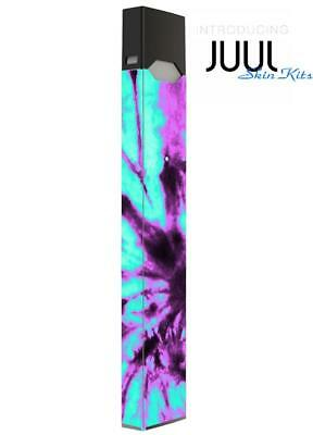 Skin Decal Wrap for JUUL4  Protective Vinyl Cover Sticker Kit Tie dye