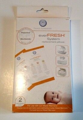 Prince LionHeart ever fresh system replacement pillows 2 pack for wipes warmer