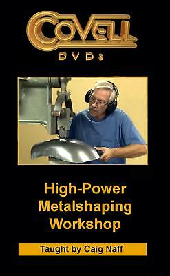 Covell High-Power Metalshaping Workshop DVD 1000-26