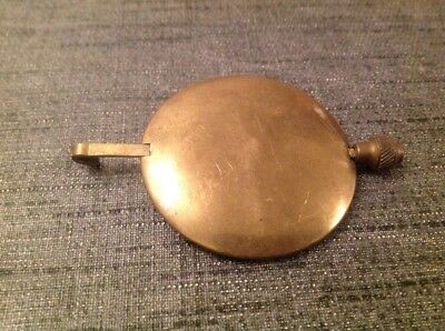 Antique Brass Pendulum 100g 50mm Diameter 75mm Long For Spare Parts