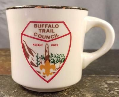 Boy Scouts (BSA) Buffalo Trail Council Needle Rock, Texas Coffee Mug / Tea Cup