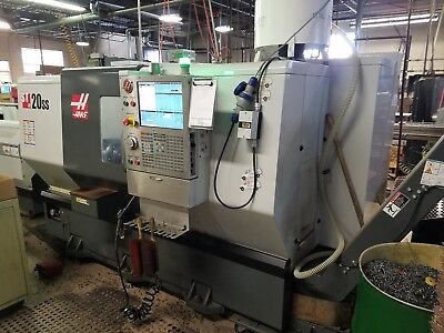 Haas ST-20 SS CNC Lathe 2013 with 24 station turret