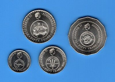 2016 50th Anniversary of Decimal Currency Changeover Coins Unc