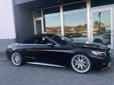 S-Class 4MATIC 2017 Mercedes-Benz AMG S 63 Cabriolet HUGE Discount Only 160 Miles!!