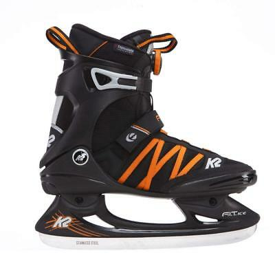 K2 Fit Ice Boa Men's Ice Skates, Men, FIT ICE BOA, black/orange