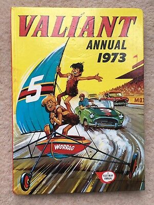 Valiant Annual 1973 - Unclipped, very good condition.