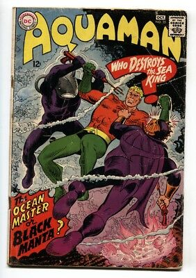 Aquaman #35 1st appearance of Black Manta DC comic book 1967