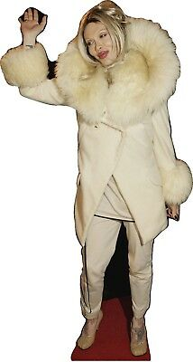 """PETE BURNS -DEAD OR ALIVE-Life Size 71"""" Tall CARDBOARD CUTOUT Standee"""
