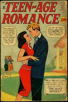 Teen-Age Romance #83 1961- Don Heck- Marvel early Silver Age G