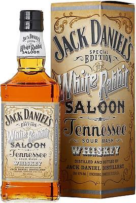 JACK DANIEL'S  WHITE RABBIT SALOON 750ml empty bottle and box... * Jack Daniels