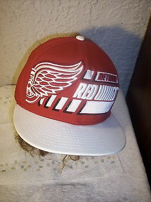 dd850e95bc9 DETROIT RED WINGS New Era 9FIFTY Snapback Cap Hat Red Black Gray ...