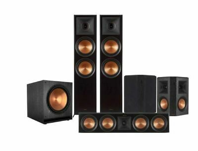 "Home Theater System Speakers Klipsch 5.1 Rp-8000F Reference Premiere + 15"" Sub"