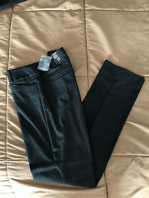 NWT THE LIMITED Sz 12R Exact Stretch Simply Straight Pants, Black, THE ORIGINAL