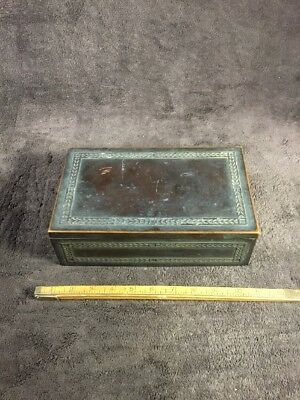 Antique Tobacco Humidor; Pipe Cigar