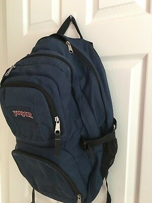 Authentic JanSport High Stakes Superbreak Big Hiking Student Backpack  School Bag 73958bee512a2