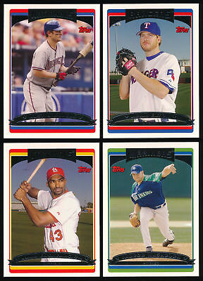 2006 Topps Update and Highlights BB (#201-330) You Pick Complete Your Set (A06)