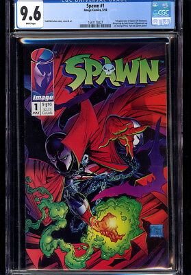 Spawn #1 Cgc 9.6 Wp 1St App Spawn!