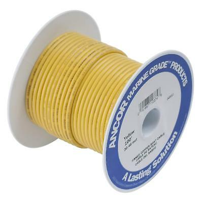 4GA Gauge AWG Yellow Ancor Marine Grade Battery Cable Tinned Copper PER FOOT