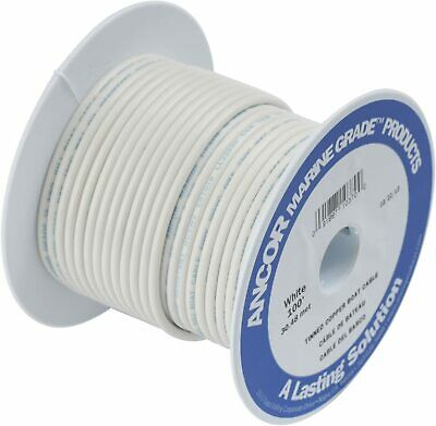 10GA Gauge AWG Orange Ancor Marine Grade Battery Cable Wire Tinned Copper 20ft