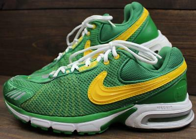 la meilleure attitude 2f195 ee294 2005 NIKE AIR Max 30/40 Mens Prefontaine Pre Lives Oregon Green Shoes Size  12
