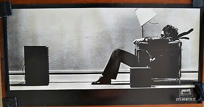 Maxell Tape BLOWN AWAY Original Vintage Full-Size Poster 43.5 x 22""