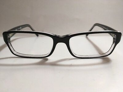 3d1ccfecac clearance ray ban rb 5169 2034 black clear eyeglass frame 5216 140 58e48  0387c