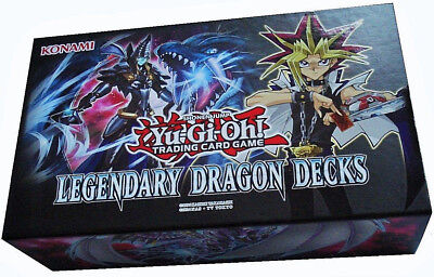 Yu-Gi-Oh! Legendary Dragon Decks -Holiday Box 2017- NEU & OVP 1.Auflage Deutsch