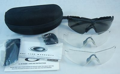 d14a2550355 OAKLEY SI Ballistic M Frame 2.0 Military Safety Shooting Glasses Kit 41-28