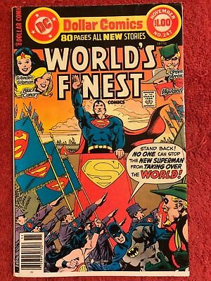 World's Finest 247 DC Lot of 1 1977 Haney Garcia-Lopez Isabella Conway Giordano