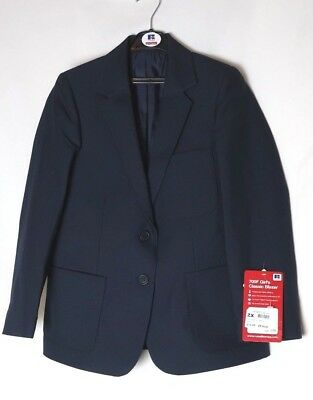 "MBC ~ Girls size 29"" ~ New ~ RUSSELL Navy School Blazer Uniform ~ For 8/9 years"