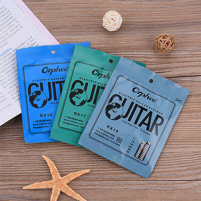 Electric Guitar Strings Regular Slinky 6pcs/Set Orphee RX15 R17 RX19 009-011 Hot