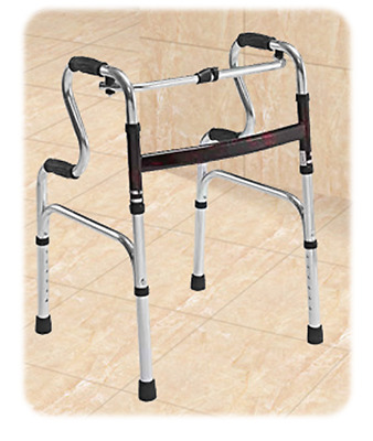 Walking Frame - Aluminium, Comfort Grips, Fold-able, Height Adjustable