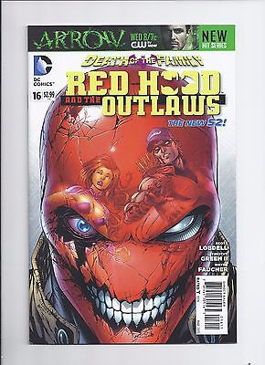 Red Hood and the Outlaws # 16 NM- New 52 Death of the Family Tie In 2013