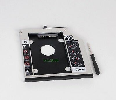 SATA 2nd HDD SSD Hard Drive Caddy for IBM Lenovo Thinkpad T400 T400s T410