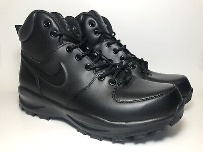 huge selection of 2c6f4 3136f Nike Manoa Mens Black Leather ACG Waterproof Boots 454350-003 Size 9