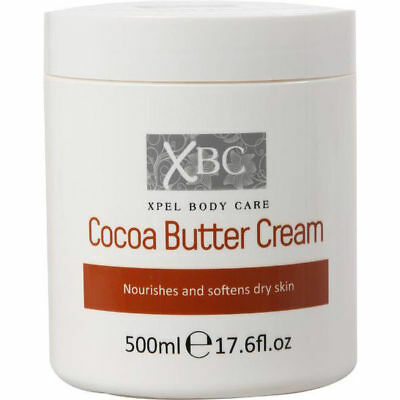 Xbc Cocoa Butter Cream Body Lotion 500Ml Moisturising Dry Skin Moisturiser