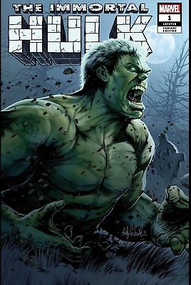 The Immortal Hulk #1 Witter/AOD Variant Limited 3000 + Regular Cover A