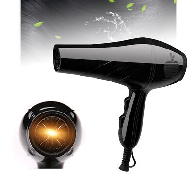 1000W Large Power Professional Hair Blow Dryer Hot & Cold Air Fast Heating Tool