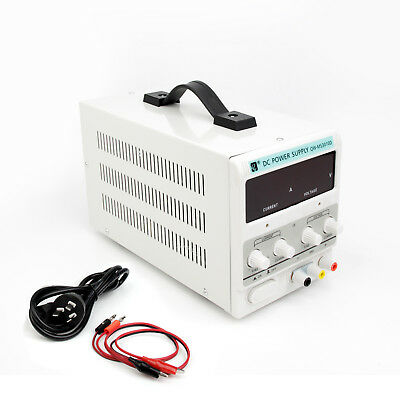 DC Power Supply 30V 10A Precision Variable Digital Lab Grade Adjustable + Cable