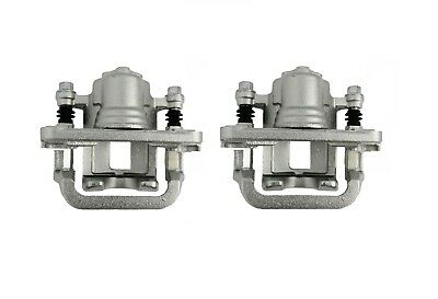 PAIR of Rear Brake Calipers + Carriers R/H+L/H For Nissan X-Trail T30/T31 2001>+