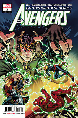 Avengers #3 (Lgy #693) - 1St Print - Marvel - Bagged & Boarded. Free Uk P+P
