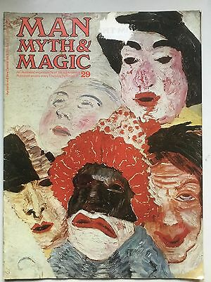 Man, Myth & Magic 1970 No 29 Eleusis elixir of life end of the world Clonmel